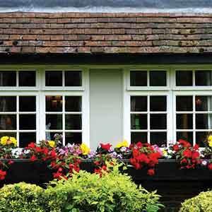 Spring Home Exterior